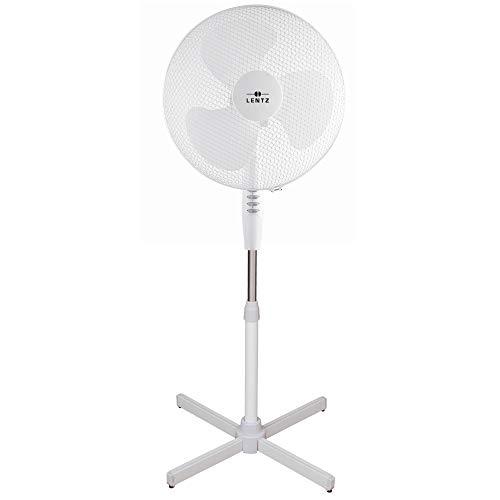 Ventilator, drehbar/oszillierend, 3 Geschwindikeiten (Standventilator, Weiss)
