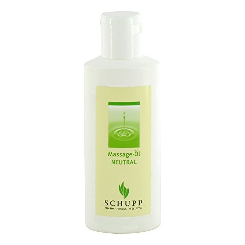 SCHUPP Massage-Öl Neutral ohne Parfümöl,200ml