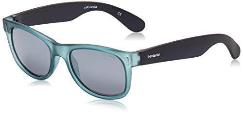 Polaroid - P0115 - Occhiali da sole Bambini Rettangolare - Polarizzati - Materiale leggero - 100% UV400 protezione - Custodia protettiva inclusa