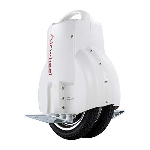 Airwheel Q3   Monociclo Eléctrico Inteligente de 2 Ruedas con Pedales Plegables de Aluminio de Aviación (Blanco)
