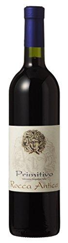 6 Fl. Primitivo Puglia IGT Rocca Antica tr. 2017 Di Camillo Vini im Sparpaket, trockener Rotwein aus Abruzzen