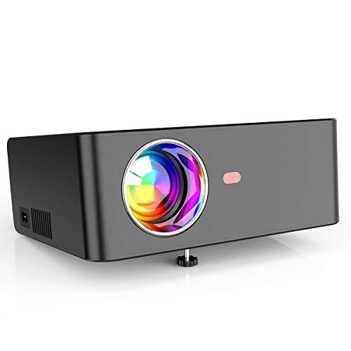 Proiettore S2, Videoproiettore 5800 Lumen Mini Proiettore Portatile Nativa 1280 * 720P