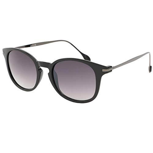 Eye Wear Lunette de soleil Mode Noir Mat et Argent Zangra - Mixte