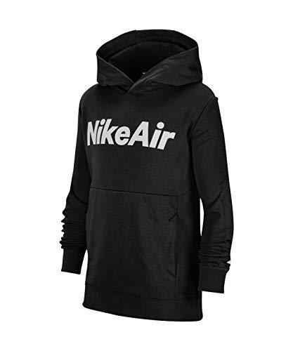 Nike Felpa Air Nero CU9297-010 Bambino