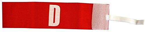 Softee Equipment 43002.005 Brazalete Distintivo Delegado Regulable, Blanco, S
