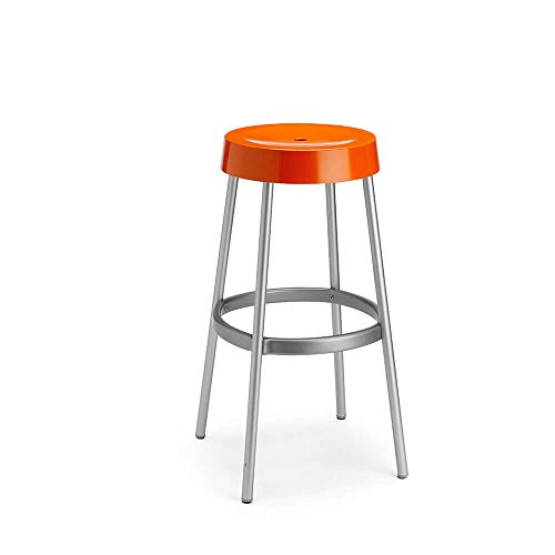 Scab Set 4 Design Gim Tabouret Orange