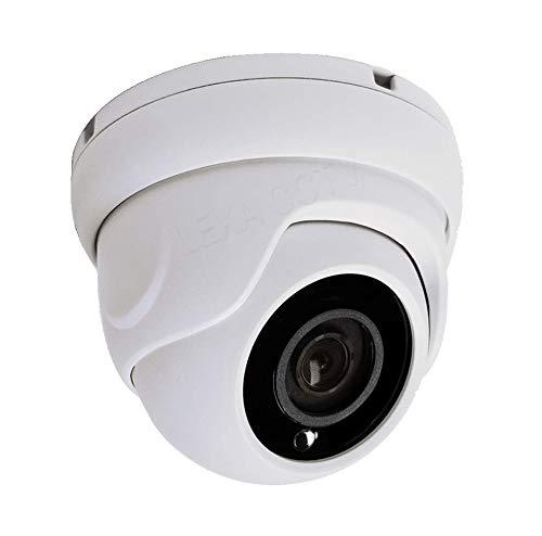 LEXAcctv 4in1 HD 2MP 1080P 2.8mm Wide Angle Lens TVI AHD CVI Analog (CVBS) CCTV Dome Camera Night Vision OSD Controller Waterproof Weatherproof Hard Metal Vandal Proof White…