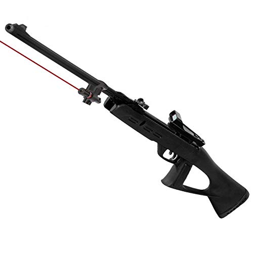 Gamo Táctical - Pack Escopeta/carabina de Aire comprimido (Muelle) Delta Fox GT de perdigones o balines + láser y Visor holográfico <3,5J (Calibre 5.5mm)