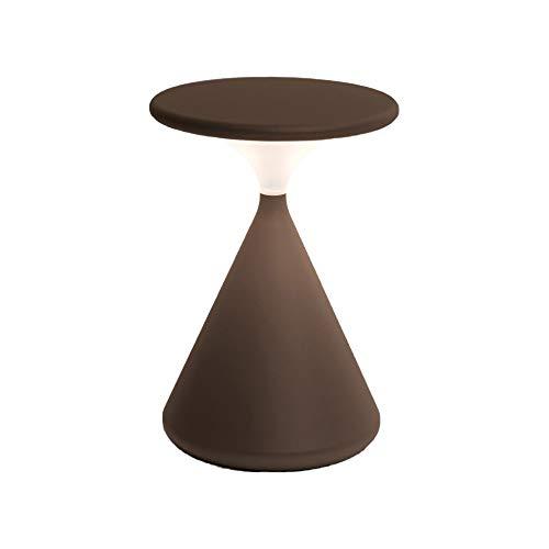 Tobias Grau Salt & Pepper LED Tischleuchte dark 18 cm