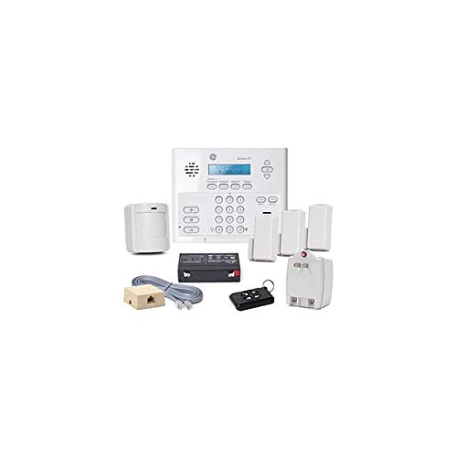 GE Security 80-649-3N-XT Simon XT Crystal Package C5 w/o X10: Control, Battery, Class II Transformer, Phone Cord, RJ31X Jack, Video, (3) Crystal Door/