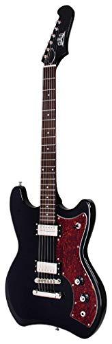 GUILD Newark St. Collection - Guitarra eléctrica de cuerpo sólido (6 cuerdas), color negro (Jetstar