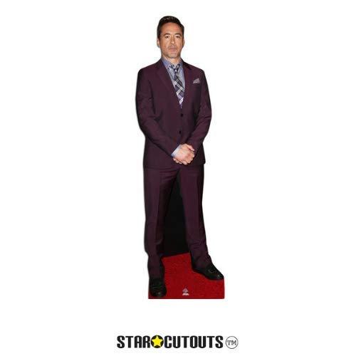 Star Cutouts Ltd CS626 Robert Downey Jr, lebensgroß, Pappaufsteller 182 cm, Mehrfarbig