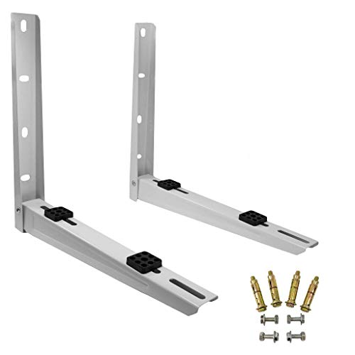 9k & 12k BTU Units : Mounting Bracket for Mini Split Ductless Air Conditioner Condensing Unit 2P (For 9000 and 12000 BTU Condensers)