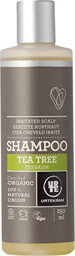 Urtekram Gommage Arbre à thé Shampooing Bio, cuir chevelu irrité, 250 ml