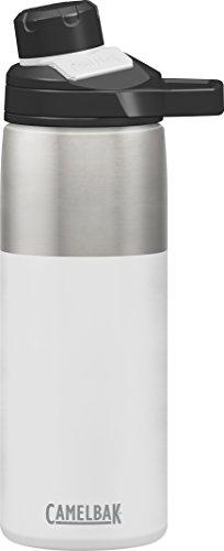 Camelbak Chute Mag - Botella de acero inoxidable, color blanco, 20 onzas