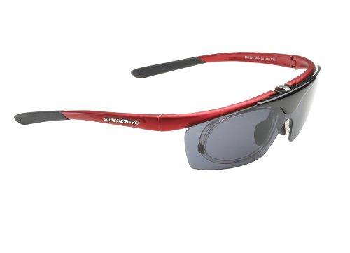 Swiss Eye Sportbrille View, Dark Red, One Size, 12445
