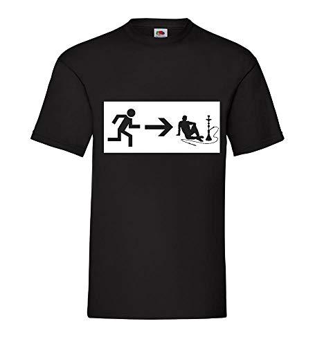 Generisch Salida de Emergencia Shisha Hombre Camiseta - shirt84