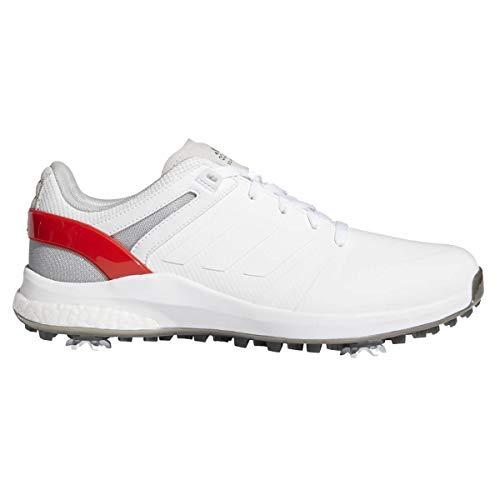 ADIDAS EQT, Zapatos de Golf Hombre, Blanco/Rojo, 42 EU