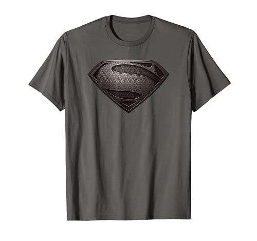 Superman Man of Steel Desaturated Gray Camiseta