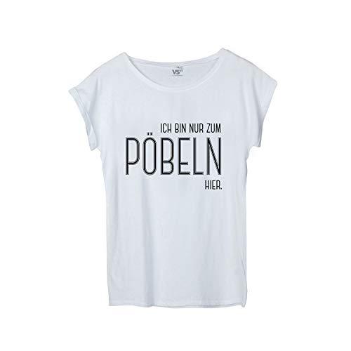 VISUAL STATEMENTS Frauen Shirt mit Spruch - viele Verschiedene Sprüche - lustig - Fair Wear - Baumwolle