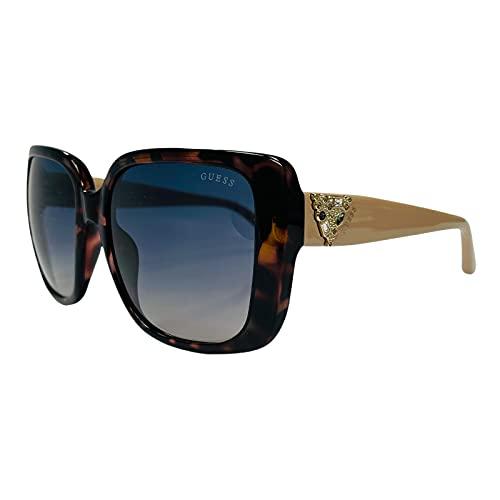 Guess Gafas de sol de moda para mujer GU7788S/S 53W Havana Frame Gradient Blue Lens