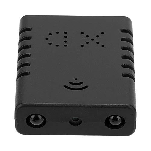 DAUERHAFT Cámara de Seguridad para el hogar Sistema de vigilancia Transmisión de Video en Tiempo Real Detección de Movimiento Soporte de Alarma Visión Nocturna por Infrarrojos para Bancos para
