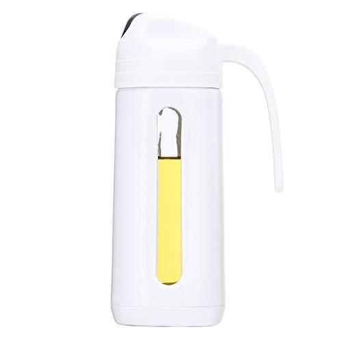 Baomasir - Distributore di olio, Auto Flip olio d'oliva, in vetro, contenitore per spezie con coperchio automatico, Ölspender