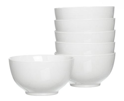 Ritzenhoff & Breker Müslischalen-Set Bianco, 6-teilig, Porzellan