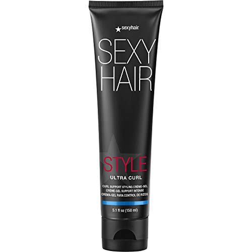 SexyHair Style Ultra Curl Support Styling Crème-Gel, 5.1 oz.