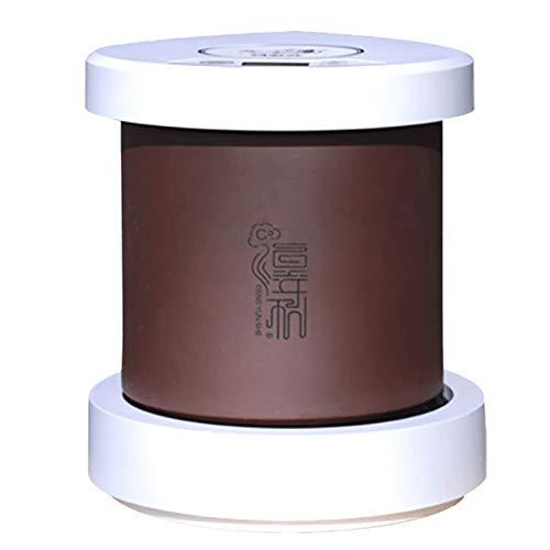 QQSS Automatisch Keimgerät Lila Sand Keimschalen für Sprossen Maschine Intelligenter Automatischer Samenkeim mit Heizfunktion