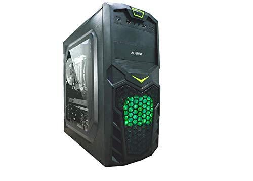 Computer fisso Gaming intel core i7 3770 - RAM 32 GB - SSD 480 - Scheda video dedicata Nvidia GTX 1650 4 GB GDDR5 - Windows 10 pro - Masterizzatore DVD - usb wifi - pc desktop assemblato completo