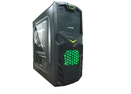 Computer fisso Gaming intel core i7 3770 - RAM 32 GB - SSD 480 - Scheda video dedicata Nvidia GTX 1650 4 GB GDDR5 - Windows 10 pro - Masterizzatore DVD - usb wifi - pc desktop assemblato completo
