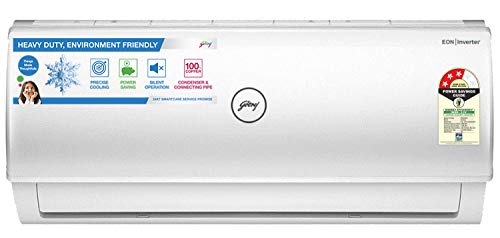 Godrej 1 Ton 3 Star Inverter Split AC (Copper AC 1T GIC 12FTC3-WSA Split 3S White)