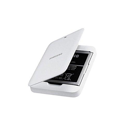Samsung EB-K740AEWEGWW Ersatzbatterie Ersatzakku und Ladegerät im Set für Galaxy S4 Zoom - Weiß