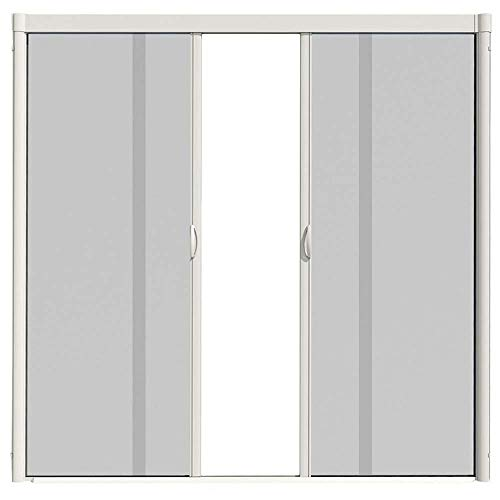 VISISCREEN VS2R72X84W Double Door Resizable Retractable Screen Kit-72 inch x 84 inch, White