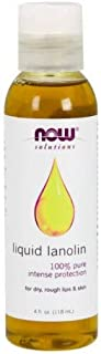 NOW Liquid Lanolin Pure, 4-Ounce (Pack Of 2)