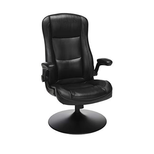 "RESPAWN RSP-800 OFM Rocking Gaming Chair, 29.13"" D x 25.98"" W x 41.73"" H, Black black chair gaming"