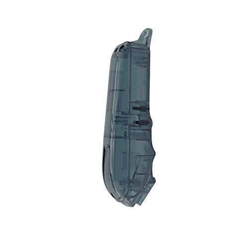 Meijunter Coque de Tondeuse de rechange pour Wahl 8148/8591 Clipper - Professionnel Protecteur Boîtier De Face Arrière Couverture (Gris)