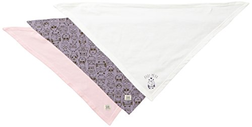 Mexx Baby - Mädchen Halstücher Bandana C&S, 3Er Set, Gr. One Size, Violett (Thistle Heather 567)
