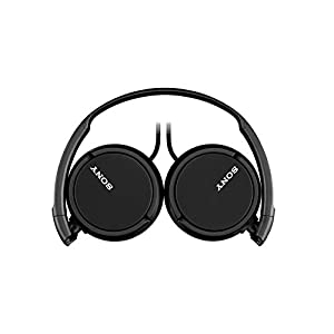 Sony MDRZX110AP ZX Series Extra Bass Smartphone Headset with Mic (Black)