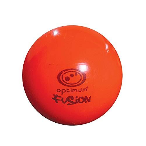 Optimum Balones de Hockey Fusion, Naranja, Talla única