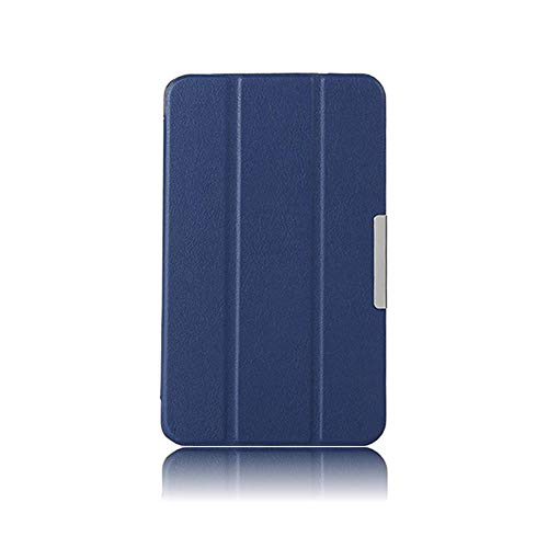 Estuche Ultra Delgado para LG G Pad 8.3 V500 V510 8.3 Pulgadas Tableta PU Cuero Imán Inteligente Soporte Protector Funda Funda-Azul Oscuro