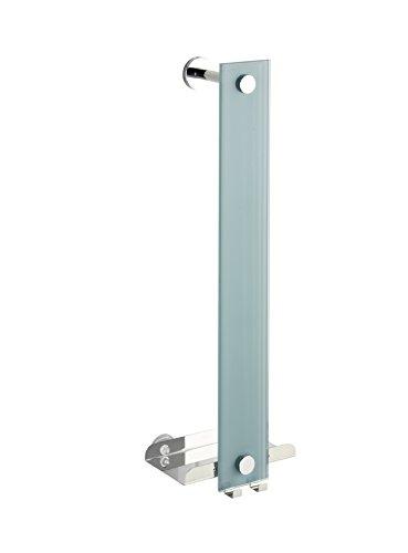 WENKO 22345100 Power-Loc Handtuchhalter Era, Befestigen ohne bohren, Stahl, 18 x 58 x 13 cm, Chrom