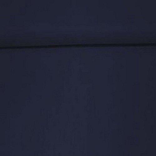 Erstklassiger Baumwollstoff, Uni, Kleider-, Dekostoff, 100{290d2a221182a9a8d46d00866cd031ca9f0ec5013375b9100fac3dc1807b3804} Baumwolle, Meterware, 1fm, Breite 160cm – dunkelblau