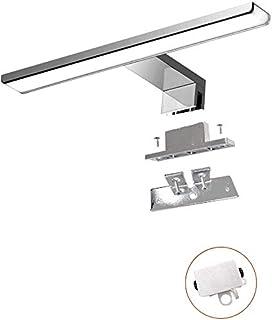 Lámpara de Espejo Baño LED 8.4W 230V 600lma Prueba de Agua IP44 40cm3 en 1Fije en el Espejo +en el Gabinete+en la Pared...