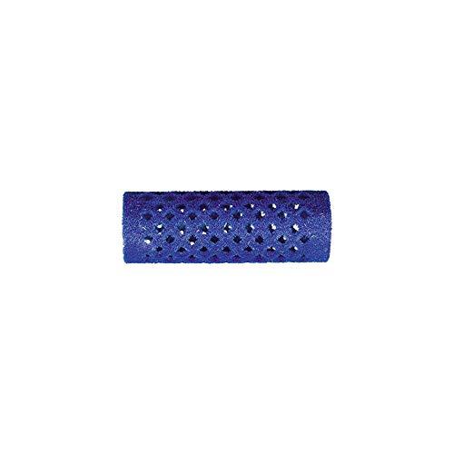 Rouleaux velours bleu 21 m ml long x12
