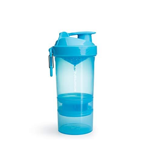Smartshake Original 2GO Appareil d'Aide à la Perte de Poids Bleu 600 ml Bleu Fluo