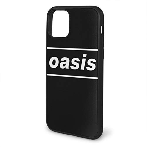 Jowenia Compatibile con iPhone 12/12 11 PRO Max Mini X/XS Max XR 8 7 6 6s Plus SE Caso Samsung S21 Ultra Black Custodie per cellulari Cover Oasis