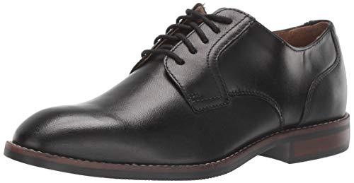 Nunn Bush Herren Fifth Ave Plain Toe Oxford Kleid Casual Lace Up, Schwarz (schwarz), 40 EU