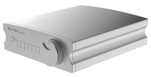 Aune X8 Magic DAC High Res 32bit/768k DSD512 - Conversor digital a analógico, color plateado